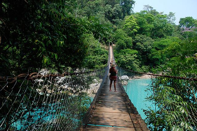 Agua Clara Bridge - Chiapas, Mexico