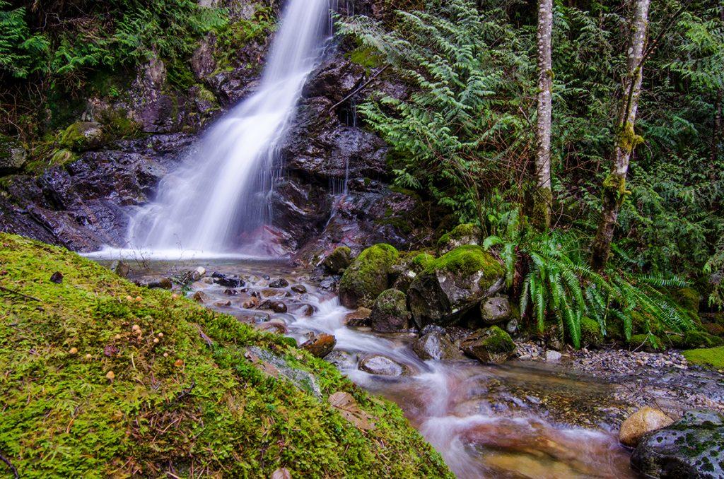 Langdale Falls - Sunshine Coast, BC