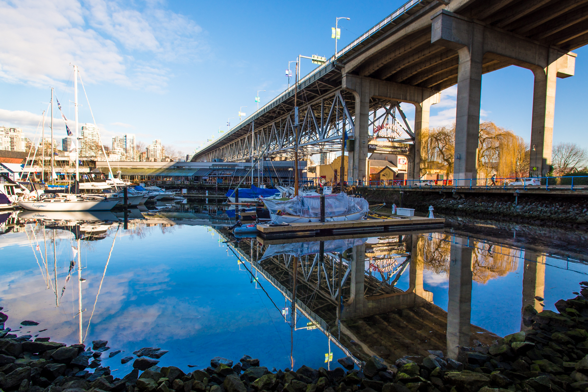 Granville Island Reflections