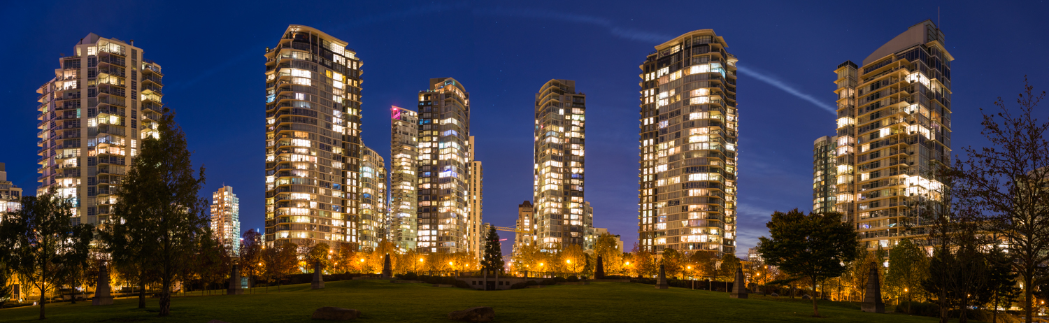 City Scape from George Wainborn Park