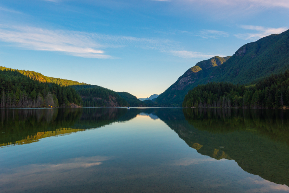 Morning Bliss at Buntzen Lake by Jaden Nyberg