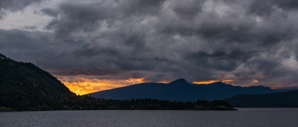 Howe Sound Sunset by Jaden Nyberg