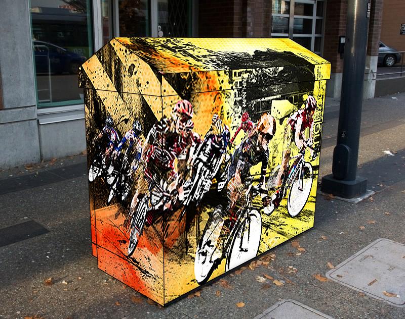 Utility Box Wrap Artwork
