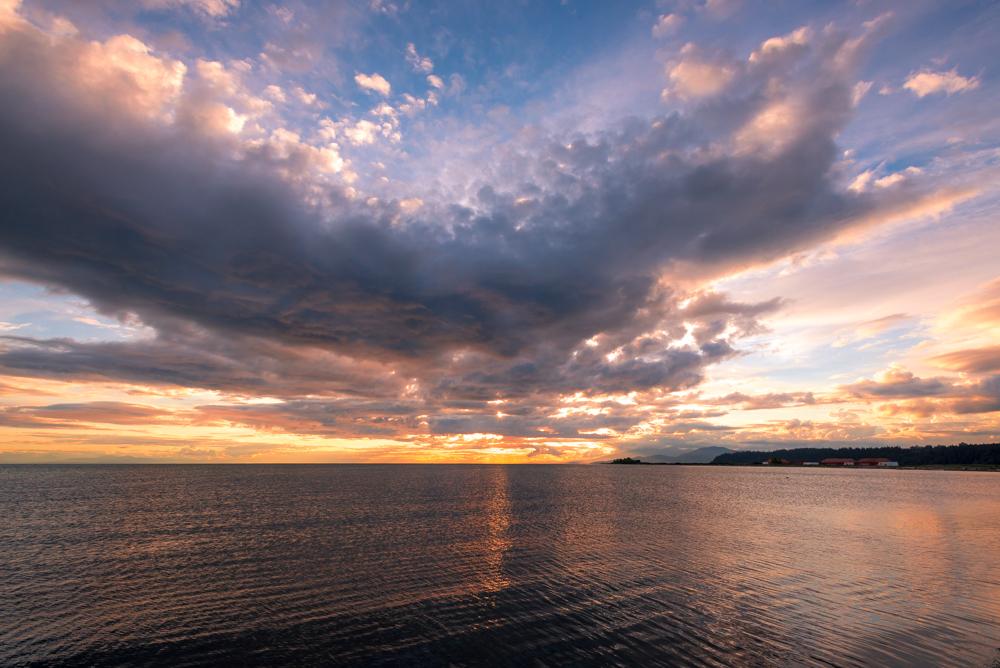iona beach sunset