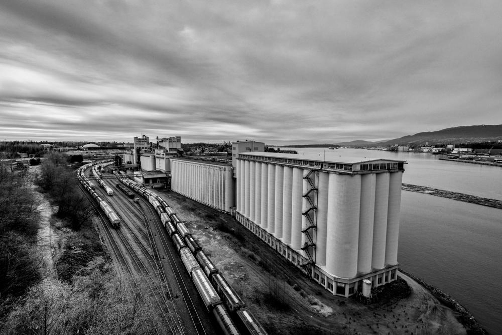 Vancouver Refinery cn rail
