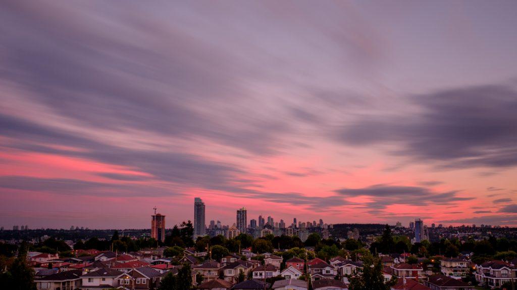 Burnaby Sunset