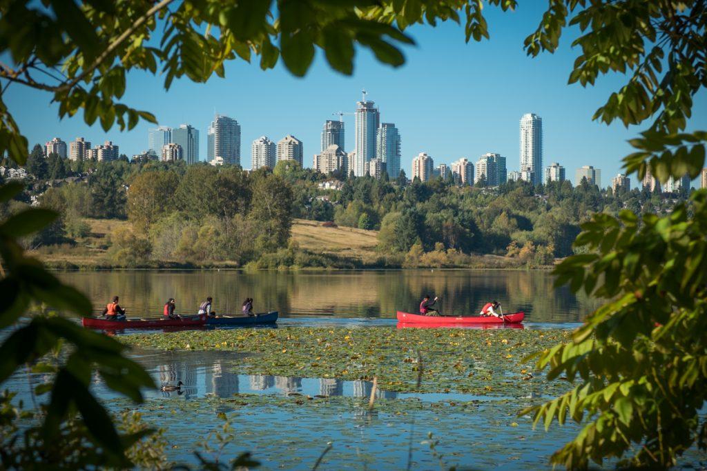 Canoe Trip in Deer Lake