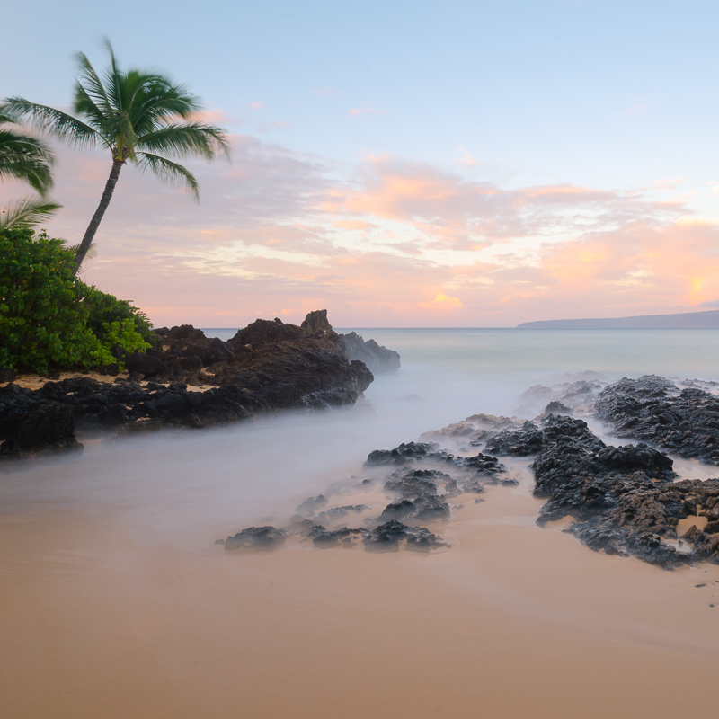 Secret Beach Sunrise - Maui Hawaii