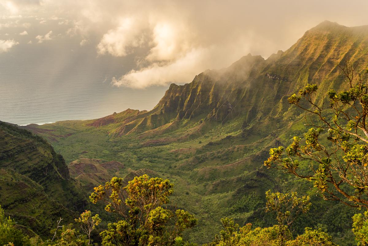 Kalalau Valley View - Kauai, HI Fine art Photography