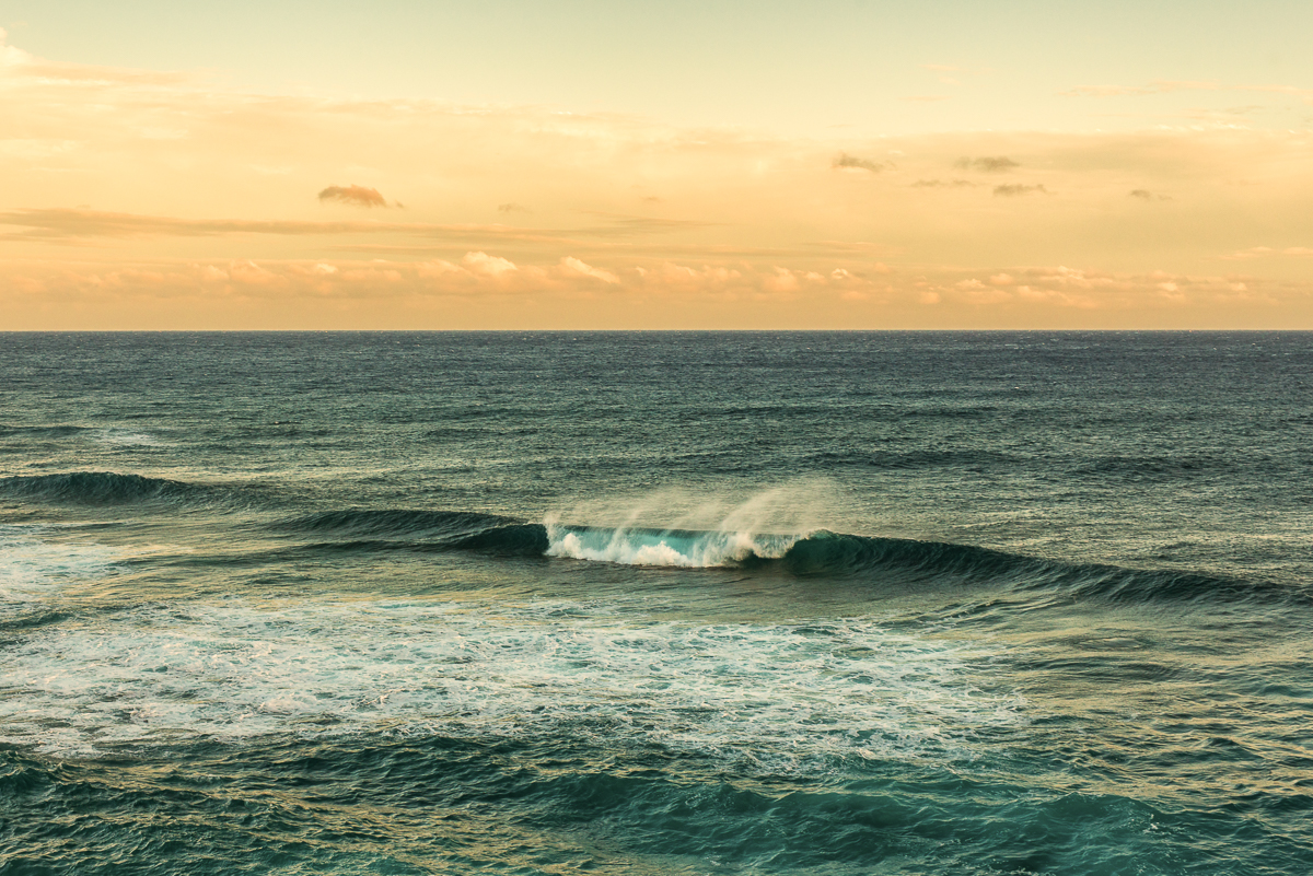 Sea Spray Shipwrecks Beach Kauai Hawaii