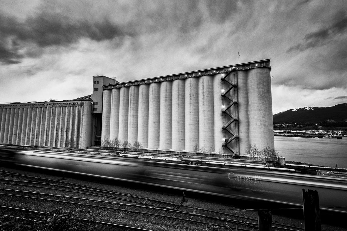 Viterra Terminal Train Car Vancouver