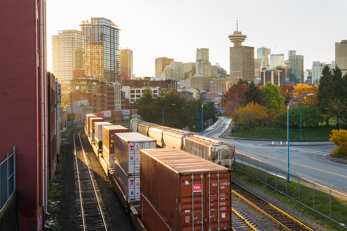 Warm Light City - Railtown Vancouver