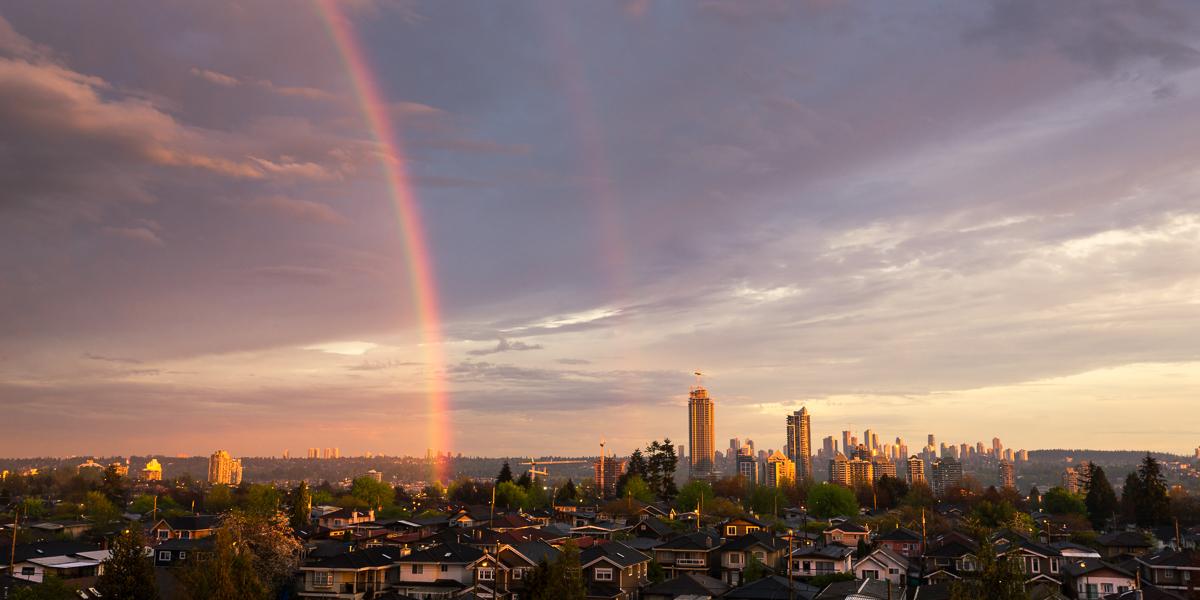 Burnaby Rainbow City Jaden Nyberg Photography