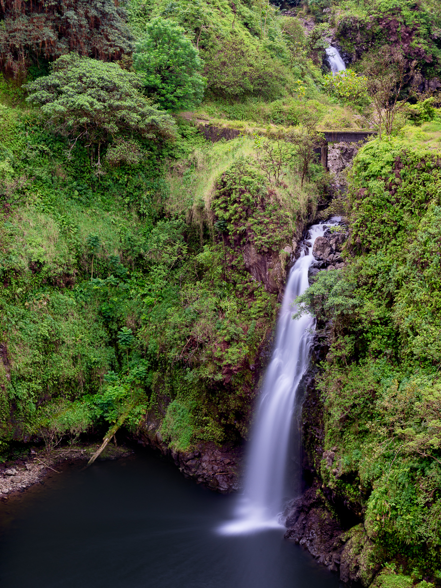 Wailua Iki Falls - Maui, Hawaii
