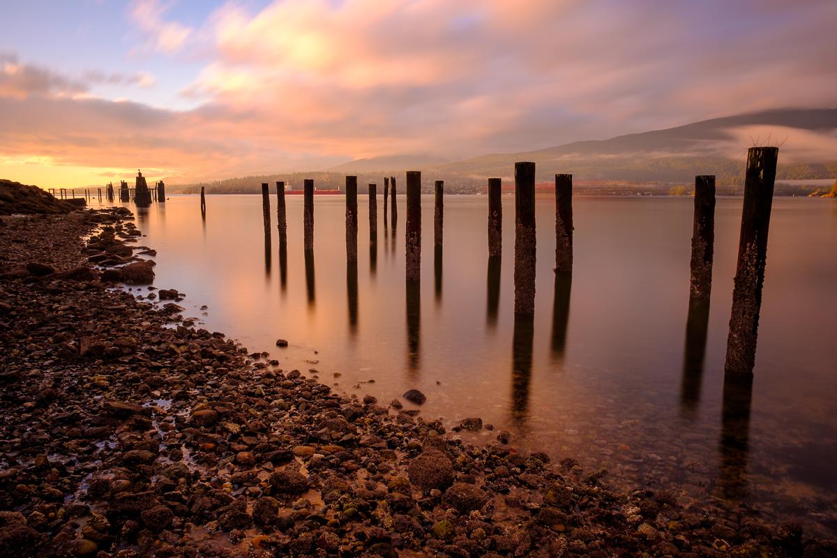 Pillars - Barnet Marine Park