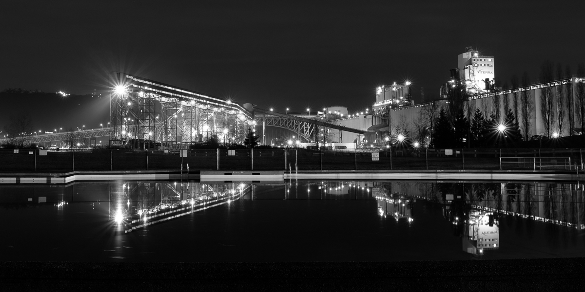 Viterra Terminal New Brighton Park Reflection