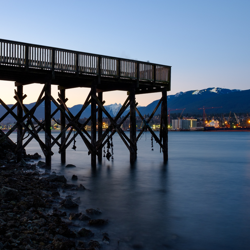 Winter Pier - New Brighton Park Vancouver