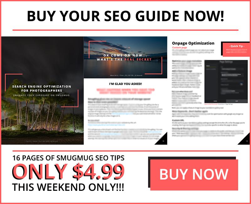 how to get my smugmug website on google